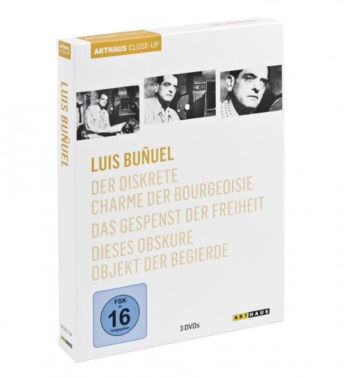 Luis Bunuel. Der diskrete Charme der Bourgeoisie, Das Gespenst der Freiheit, Dieses obskure Objekt der Begierde. 3 DVDs.