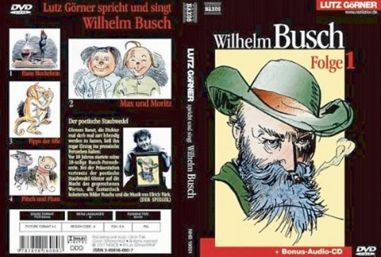 Lutz Görner spricht und singt Wilhelm Busch DVD