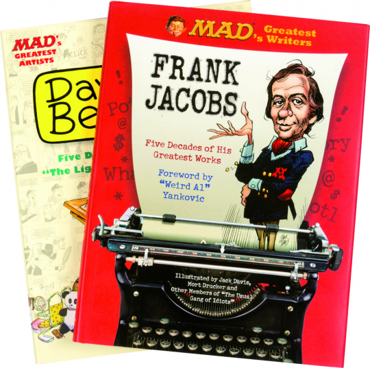 MAD's Greatest. Frank Jacobs, Dave Berg. 2 Bände im Set.