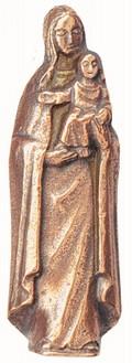 Madonna mit Kind - Bronze