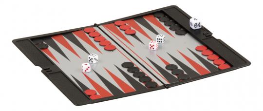 Magnetisches Backgammon.