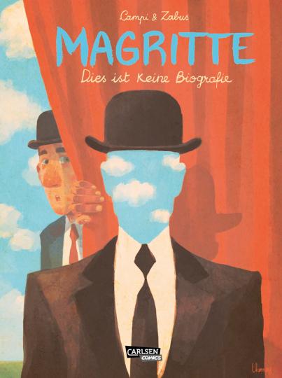 Magritte. Dies ist keine Biografie. Comic.