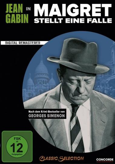 Maigret stellt eine Falle. DVD.