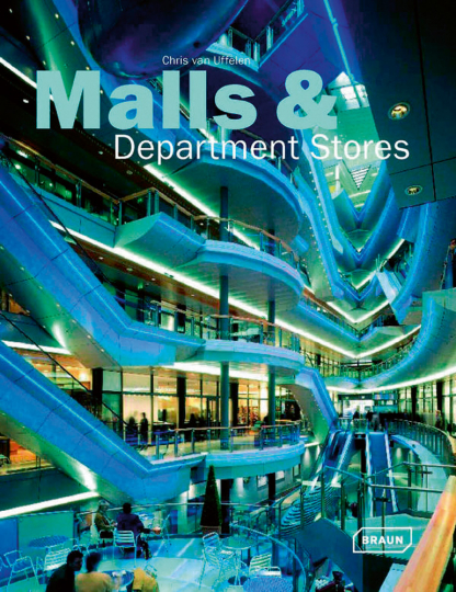 Malls and Department Stores. Kaufhäuser.