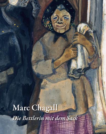 Marc Chagall. Die Bettlerin mit dem Sack.