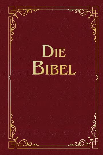 Martin Luther. Die Bibel. Geschenkausgabe, Cabra-Leder.