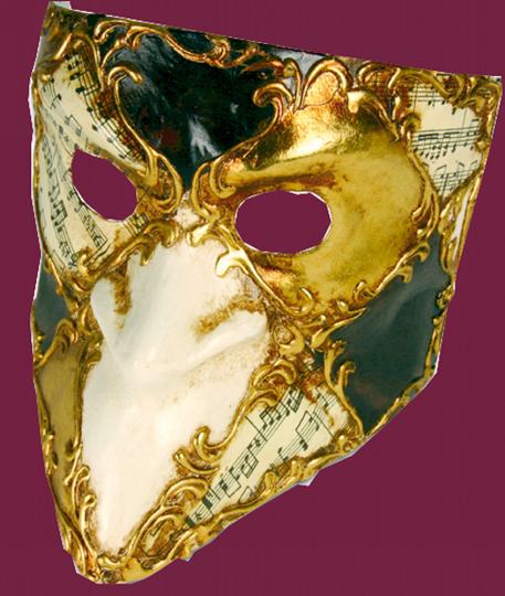 Maske Bauta Scacchi Musica