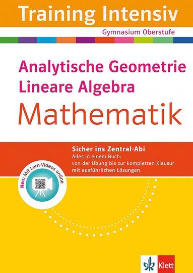 Mathematik: Analytische Geometrie und Lineare Algebra.