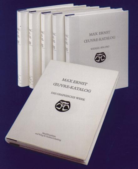 Max Ernst Oeuvre Katalog (6 Bände)