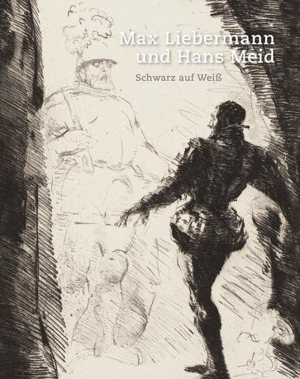 Max Liebermann und Hans Meid. Schwarz auf Weiß.
