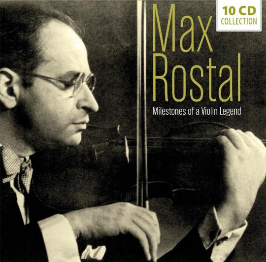 Max Rostal. Milestones of a Violin Legend. 10 CDs.