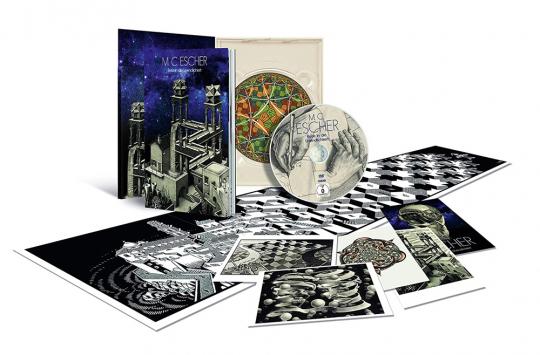 M. C. Escher - Reise in die Unendlichkeit (Special Edition im Digipak). DVD.