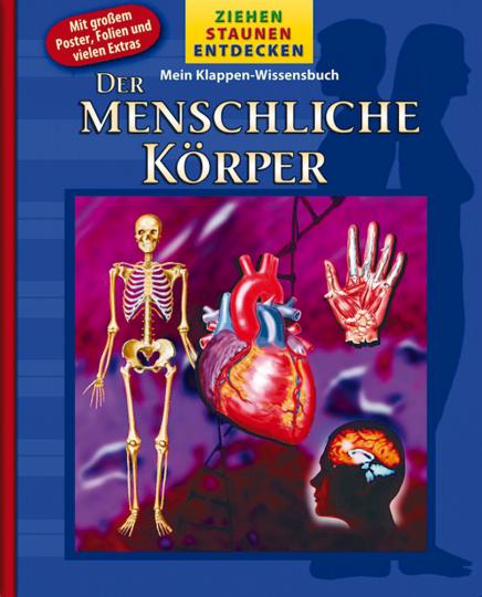 Mein Klappen-Wissensbuch: Der menschliche Körper