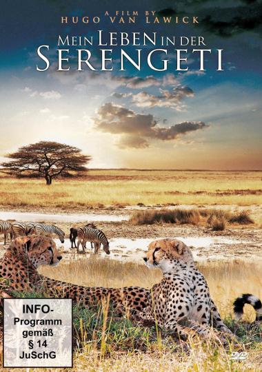 Mein Leben in der Serengeti DVD