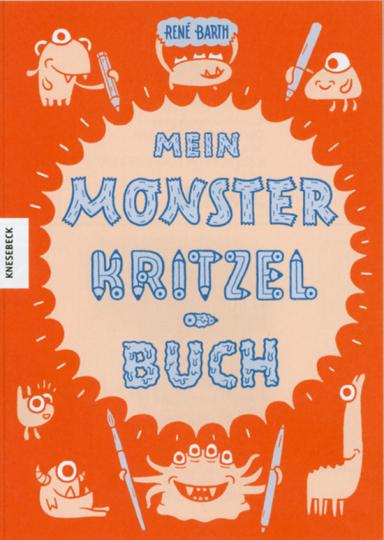 Mein Monsterkritzelbuch.