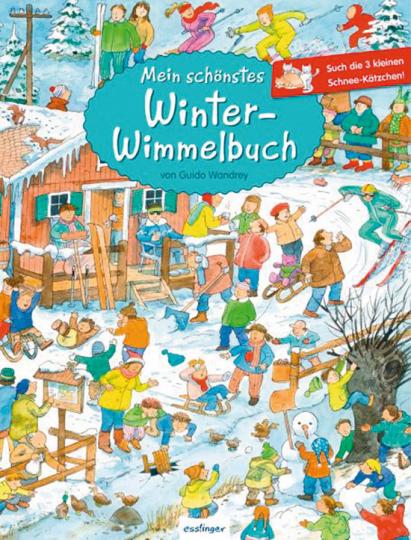 Mein schönstes Winter-Wimmelbuch.