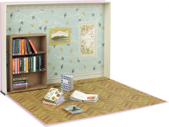 Meine Mini-Bibliothek. 30 kleine Bücher zum Basteln, Lesen und Sammeln.