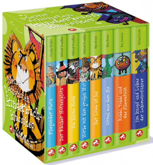 Meine schönsten Kinderbuchklassiker. 8 Bände im Schuber.