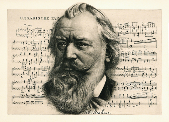Meister der Töne. Johannes Brahms.