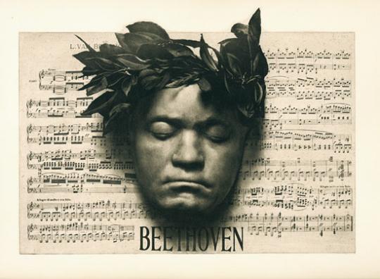 Meister der Töne. Porträt Ludwig van Beethoven.