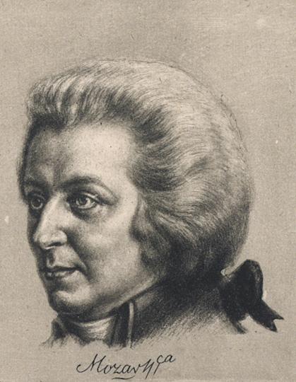 Meister der Töne. Wolfgang Amadeus Mozart.