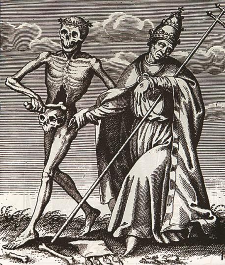 Mensch und Tod. Graphiksammlung der Universität Düsseldorf.