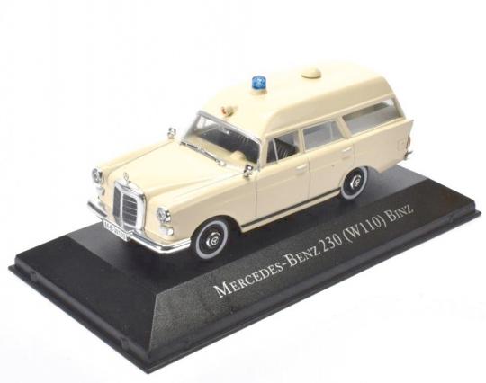 Mercedes 236 Krankenwagen - Modell 1:43
