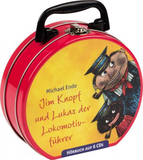 Michael Ende. Jim Knopf und Lukas der Lokomotivführer. Hörbuchkoffer mit 6 CDs.
