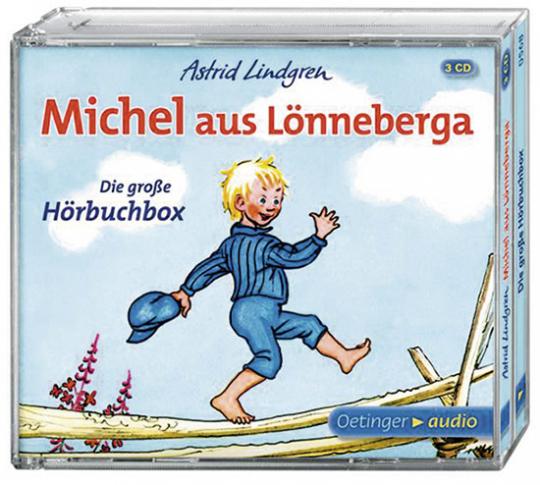 Michel aus Lönneberga. Die große Hörbuchbox. 3 CDs.