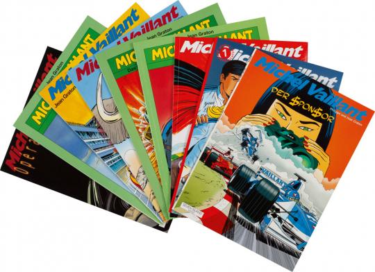 Michel Vaillant. Comic-Set. 9 Bände.
