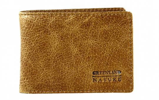 Minibörse aus Leder.