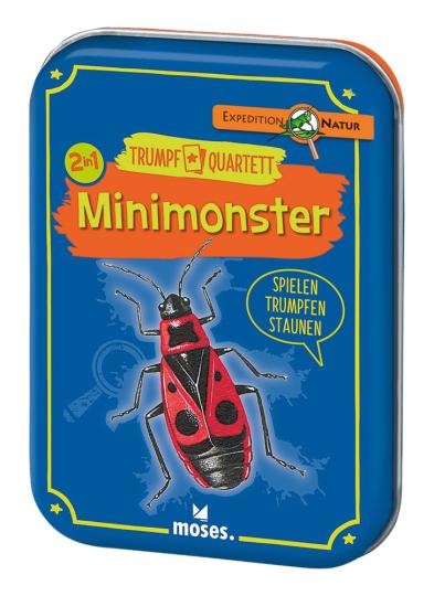Minimonster - Spielen, Trumpfen und Staunen