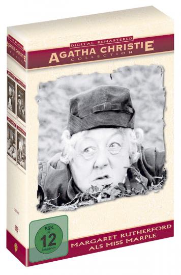 Miss Marple Edition (Remastered). 4 DVDs