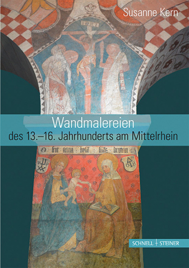 Mittelalterliche Wandmalerei am Mittelrhein.
