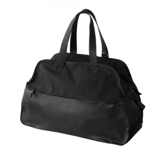 Mittelgroße Reisetasche »Waxcan«, schwarz.