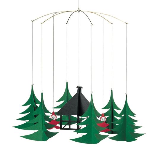Mobile »Wichtel im Wald«.