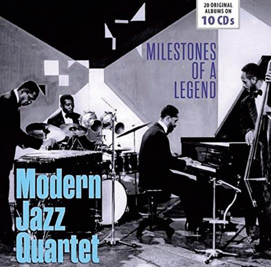 Modern Jazz Quartet. 20 Original-Alben. 10 CDs.