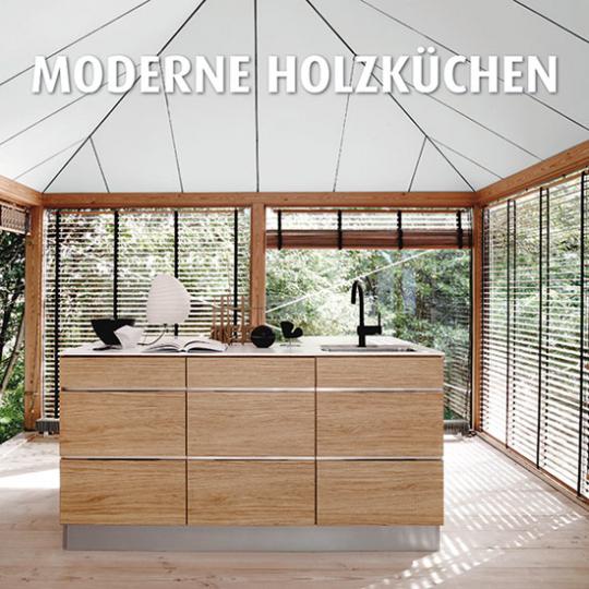 Moderne Holzküchen.