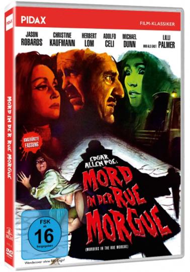 Mord in der Rue Morgue. DVD.