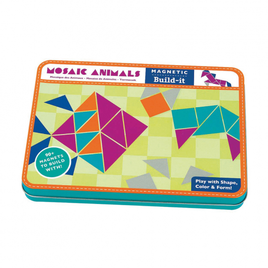 Mosaic Animals Magnetic Build It.
