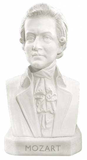Mozart Radierer Große Meister der Musik.