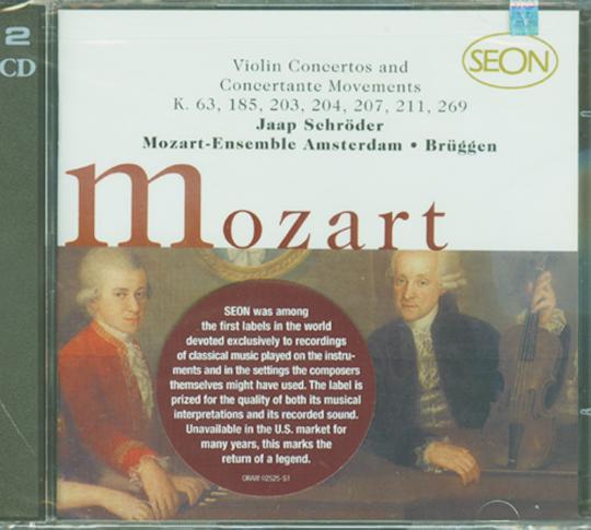 Mozart Violin Concertos und Concertante Movements 2 CDs