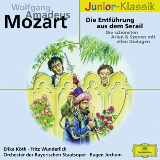 Mozarts Entführung aus dem Serail für Kinder. CD.