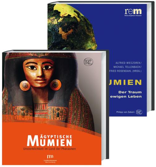 Mumien. 2 Bände im Paket. Bd. 1 Mumien. Der Traum vom ewigen Leben. Bd. 2 Ägyptische Mumien. Unsterblichkeit im Land der Pharaonen.
