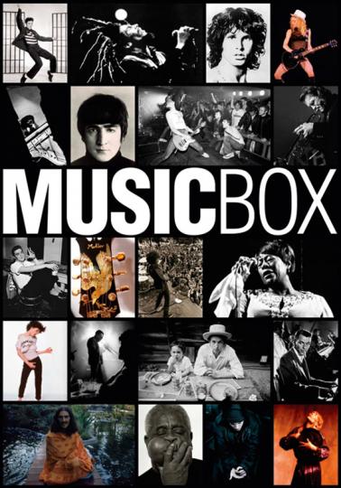Music Box. Fotografien der großen Rock- und Popstars der letzten 60 Jahre.