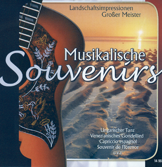 Musikalische Souvenirs. CD.