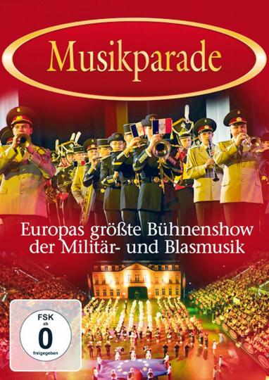 Musikparade - Europas größte Bühnenshow der Militär- und Blasmusik DVD