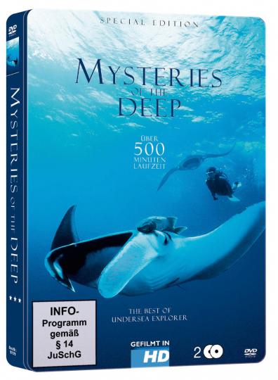 Mysteries of the Deep (Metallbox). 2 DVDs