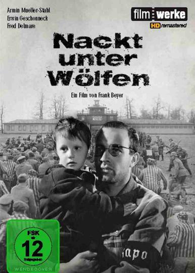 Nackt unter Wölfen DEFA DVD