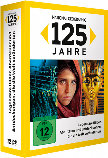 National Geographic. 125 Jahre. 12 DVDs.